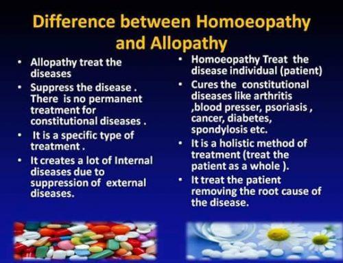 Разлики между Хомеопатия и Алопатия